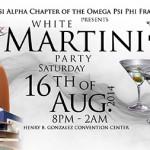 All White Martini Party 2014