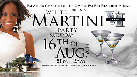 All White Martini Party 2014